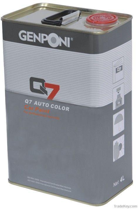 Auto paint: Thinner