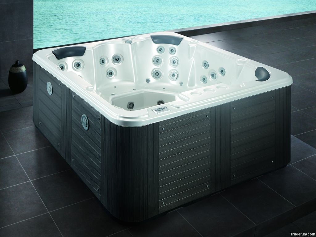 5 People Water Massage Spa Hot Tub Bathtub