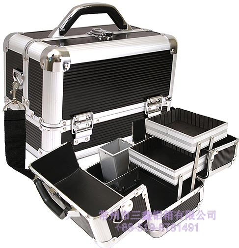 Aluminum Train Case