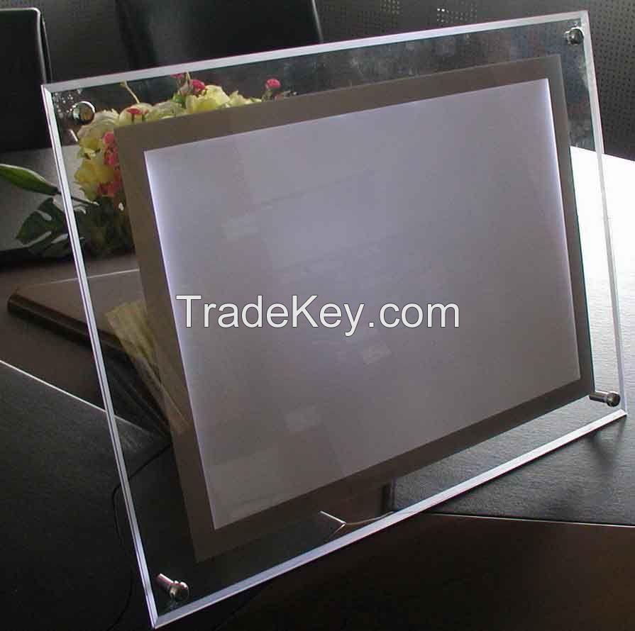 Single sided Crystal light box