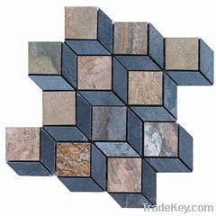 Stone Mosaic , Mosaic tiles, Chinese Mosaic , Slate Mosaic