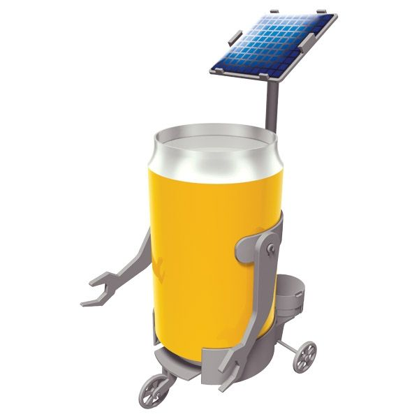 EL287 - Solar (Can) Motor Robot
