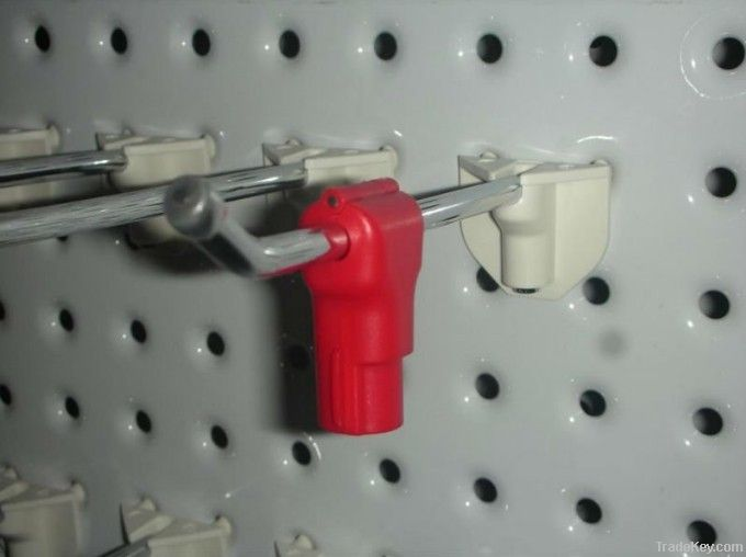 ABS 6MM Security Display Stop lock for Hooks