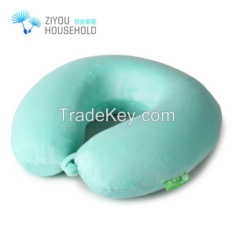 Super Material Memory Pillow Slow Rebond U Shaped Memory Foam Neck Pillow Travel Pillow Nap Pillow