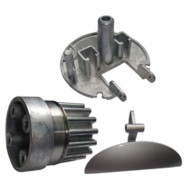 aluminum, zinc , brass ,steel,metal component