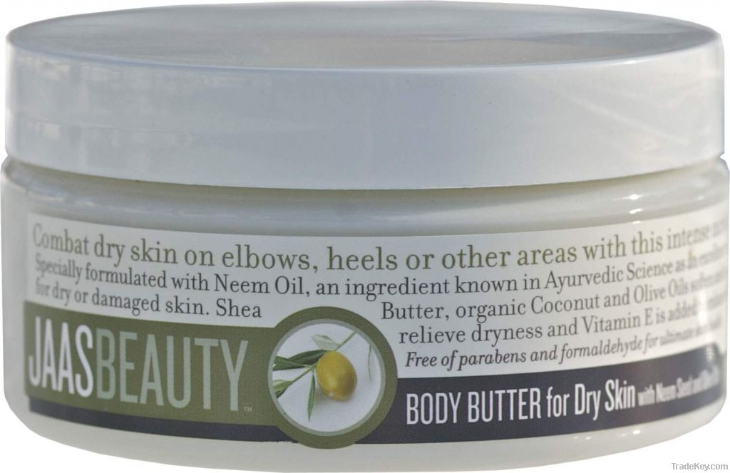 JAASBEAUTY BODY BUTTER FOR DRY SKIN