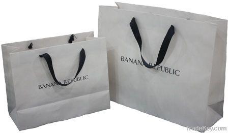 GAP kraft shopping bags