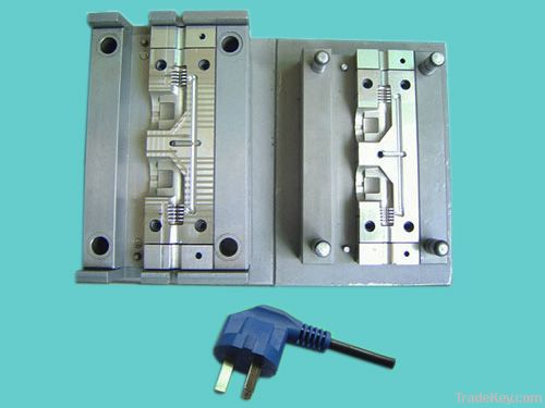 plastic mould for right angle plug