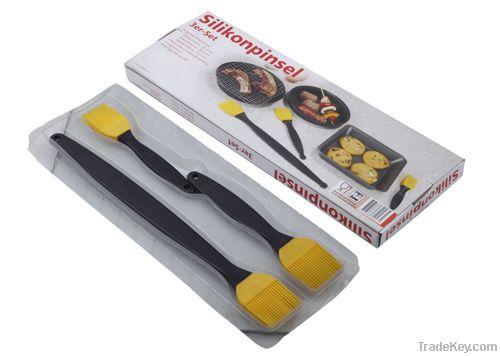 silicone baking brush