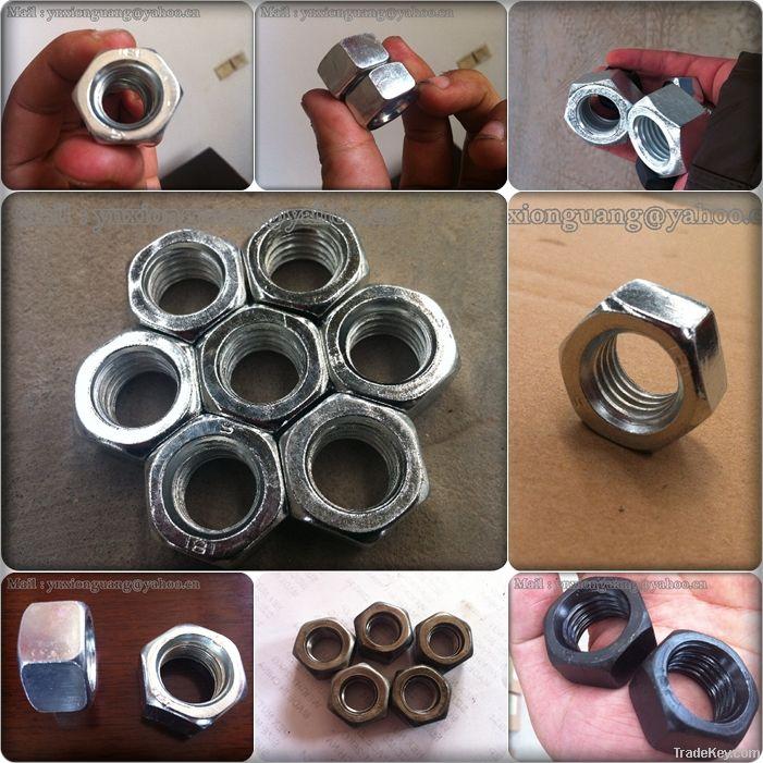 M.S HEX NUTS AND BOLTS ZINC M6 M8 M10 -M36 DIN934 DIN933 DIN558 DIN555