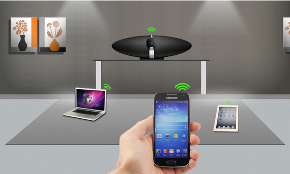 WeShare Wi-Fi Music Sharing System