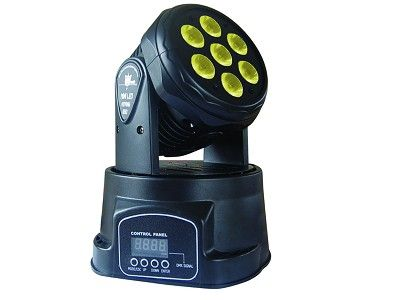10W, 7pcs 4 in 1 RGBW LEDs Moving Head Light, Moving Head stage lighting, Moving Head light, Stage Lighting system