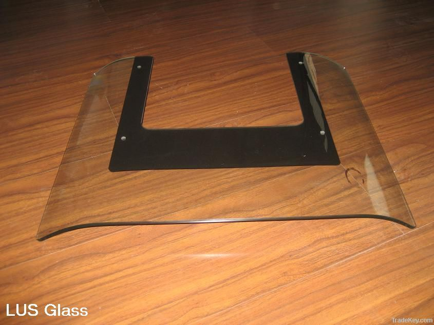 toughened glass for range hood/ glass in Zhejiang