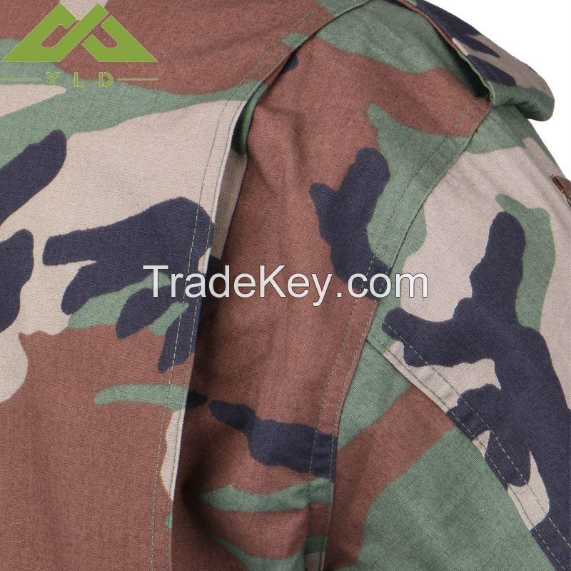 Military camouflage uniform