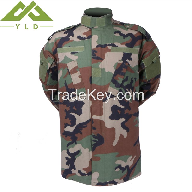 Army woodland camouflage jacket