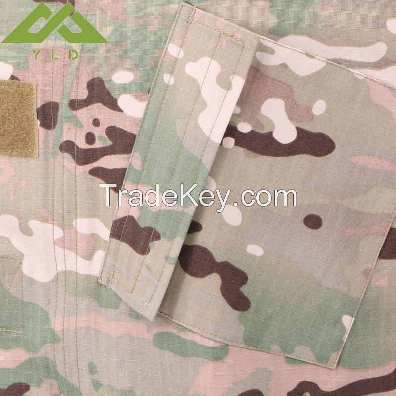 Army combat uniform military camouflage uniform