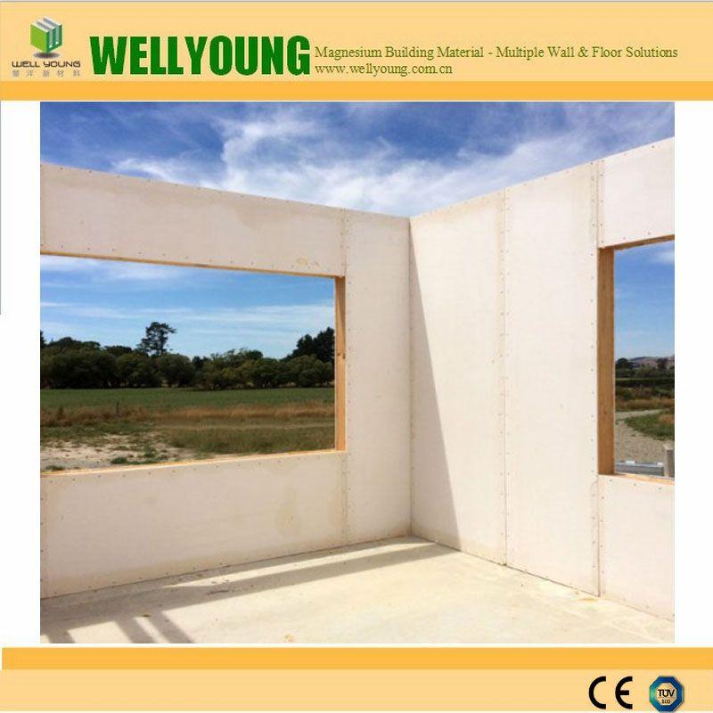 CE certified 2440x1220mm glass mgo board