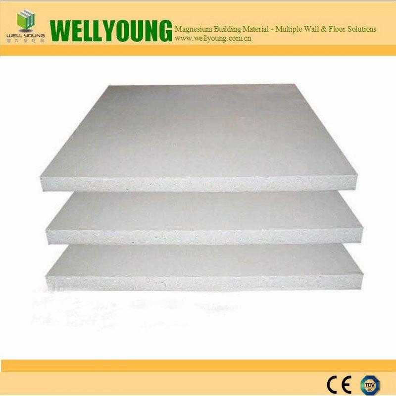 No sweating fireproof sulfate MgO panel