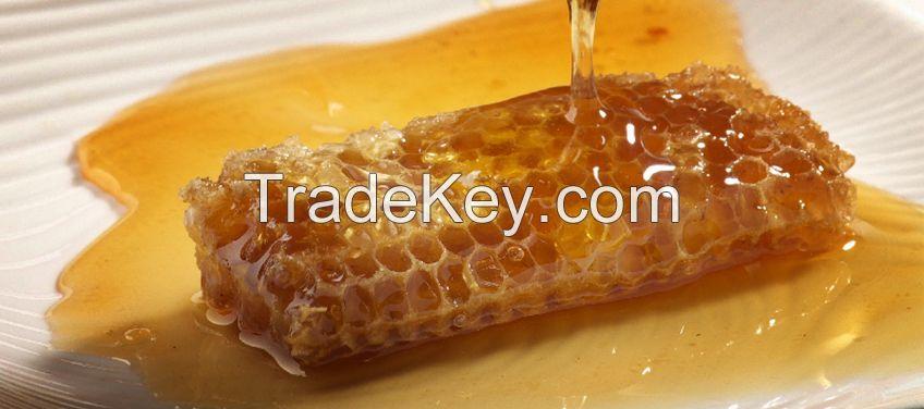 Raw Honey and Molasses