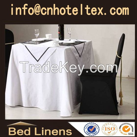 Hotel table cloth