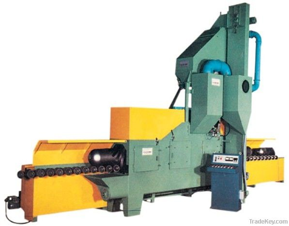QG inner and outer walls of steel pipe shot blasting machine