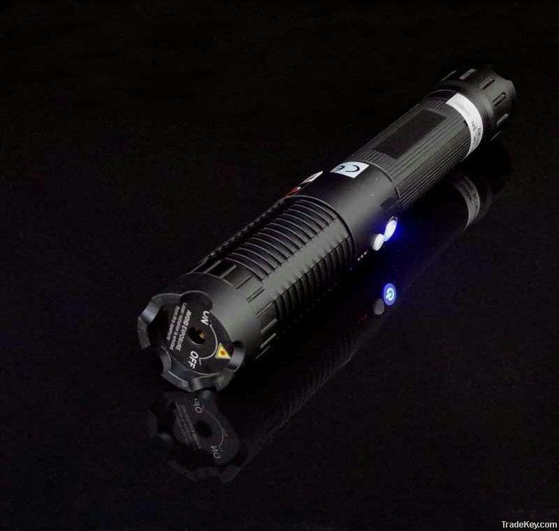 405nm 500mW  focusable portable violet laser pointer