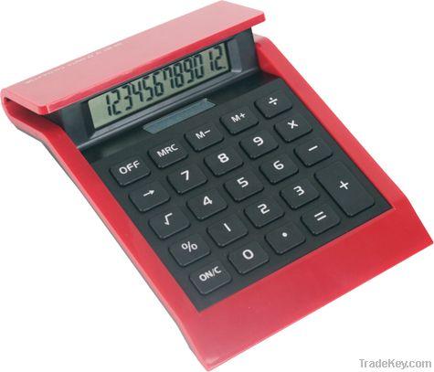 red colourful big size desktop calculator