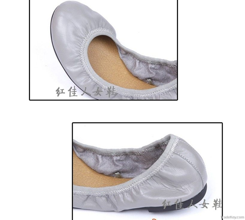 Soft Ballet shoes gray cow leather  dance shoes size 36--42