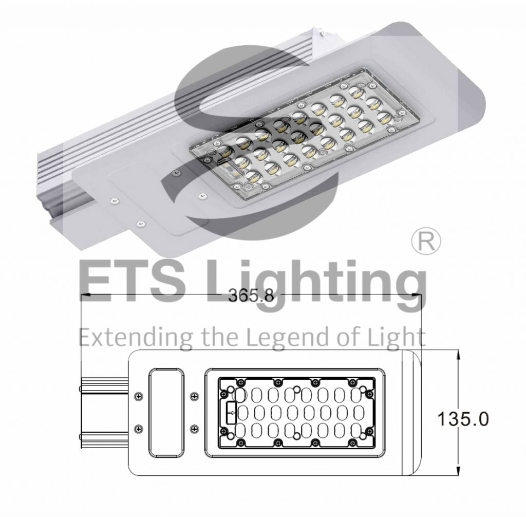 LED Streetlight  30W ET-30-A1 TUV