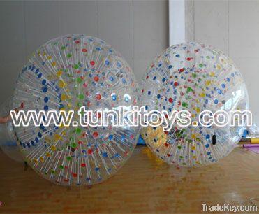 zorb ball moon ball rolling ball grass zorb ball