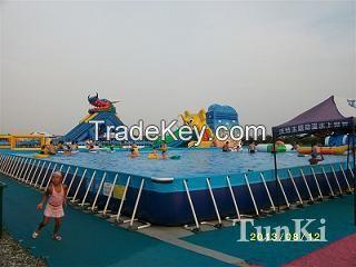 Frame pool water pool aqua pool water tank
