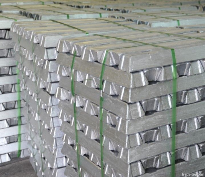 99.99% Zinc Ingot Metallurgy Ingots factory manfaturer