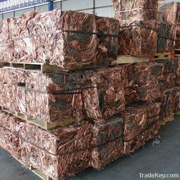 Red Copper Scrap 99.9% Millberry Copper Wire Scrap