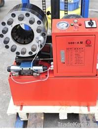 on behalf of factory to sell hydraulic hose swaging machine