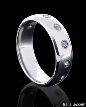 Aaaa Cz Rings Nana Rings Tungsten Ring Diamonds
