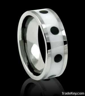 2012 fashion jewelry tungsten rings ceramic rings