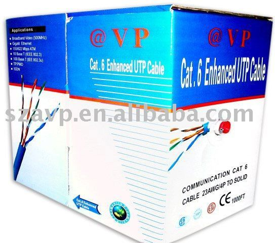 CAT5e UTP lan cable Network Cable from professional manufacturer