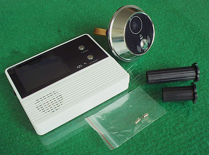 2.4'' Door Viewer with 32 ring tones/Electronics Peephole System with good night vision/ Door Video/cheapest