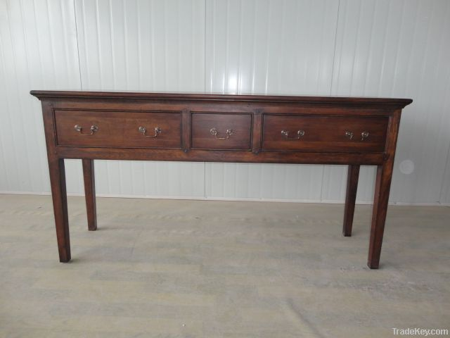 3 Drawers French Side Table