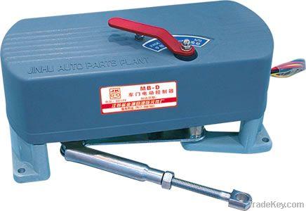 Electronical folding door pump