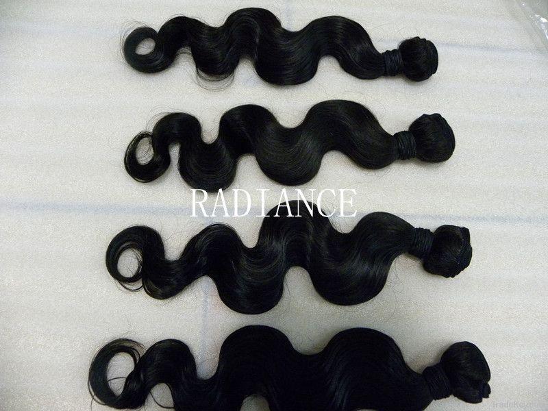 unprocessed  brazilian vigin remy hair body wave