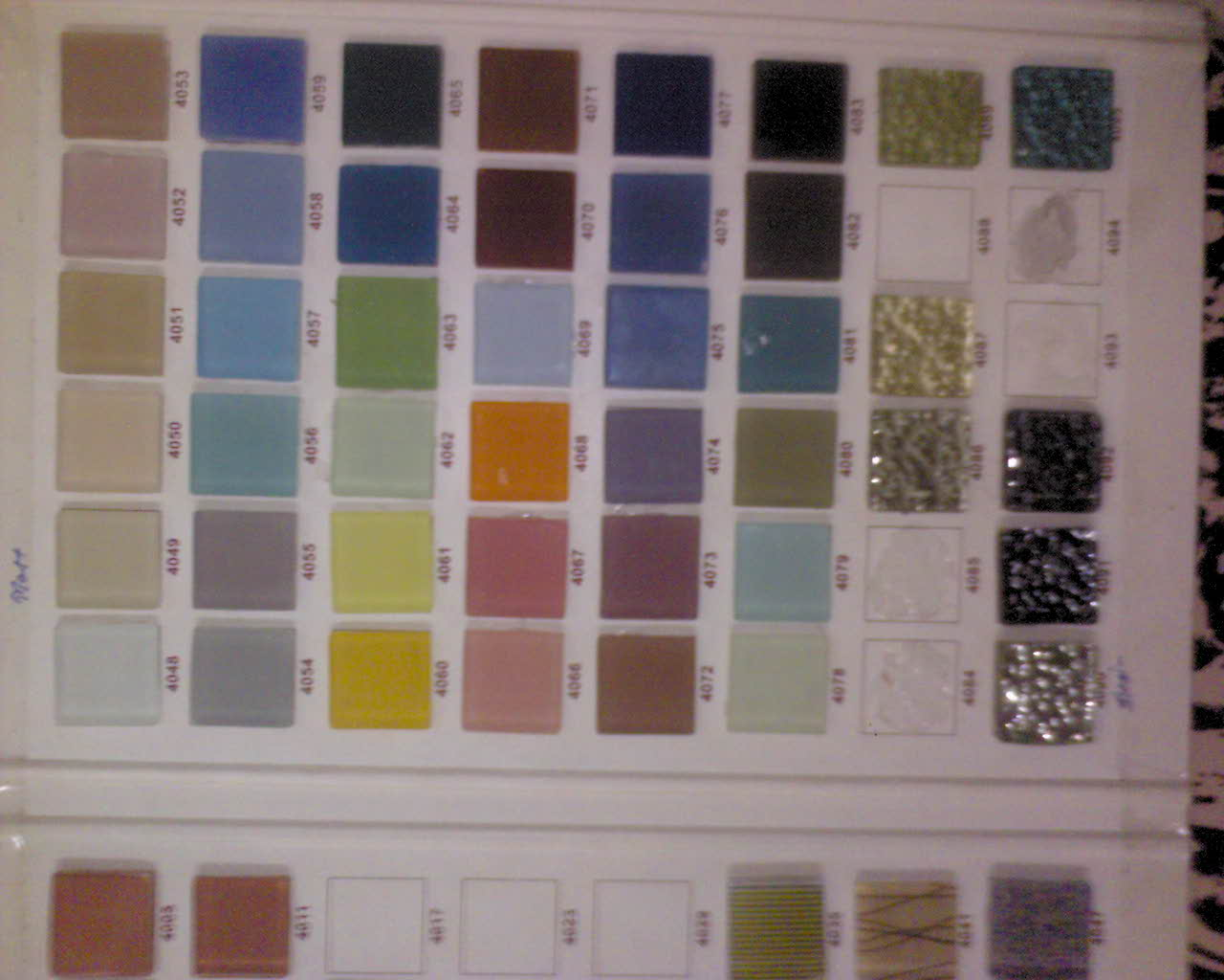 glass mossaic wall covering