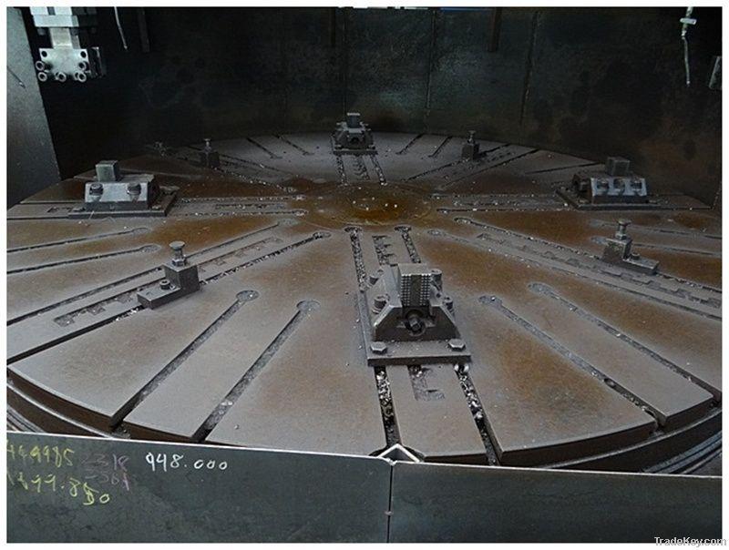 Vertical Lathe DAEJEONG 4000mm Hoseong Machinery