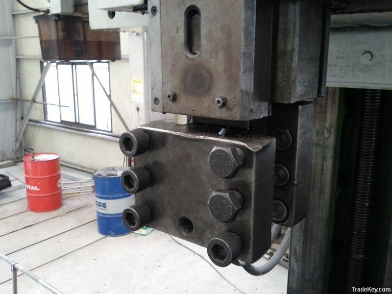 Vertical Lathe Sedin 3200mm Hoseong Machinery Korea