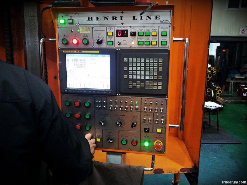 HENRI LINE` 5-Face CNC Bridge Mill
