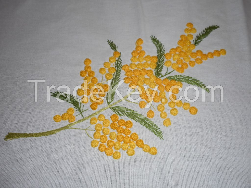 Handmade Embroidered tablecloths