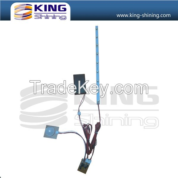Electronic optical fiber lighting product for decoration