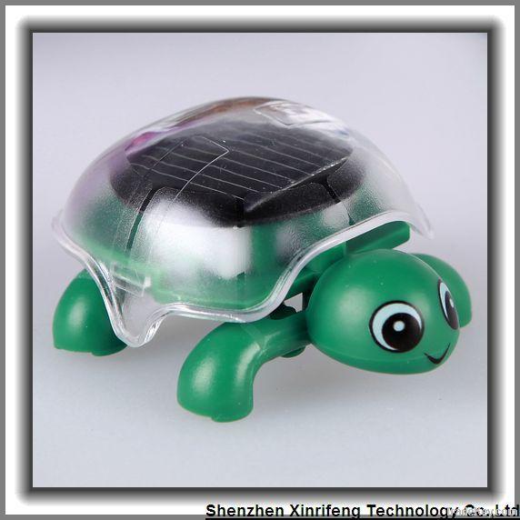 Kid toys solar tortoise