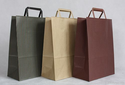 High-quality paper bag for packaging apparel