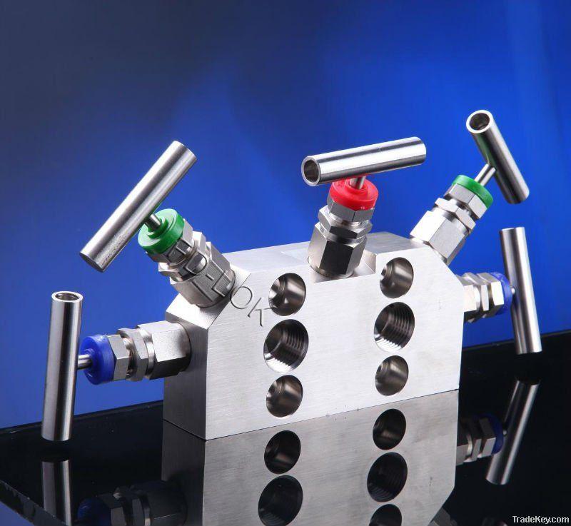 5 valve manifolds, instrumentation manifolds
